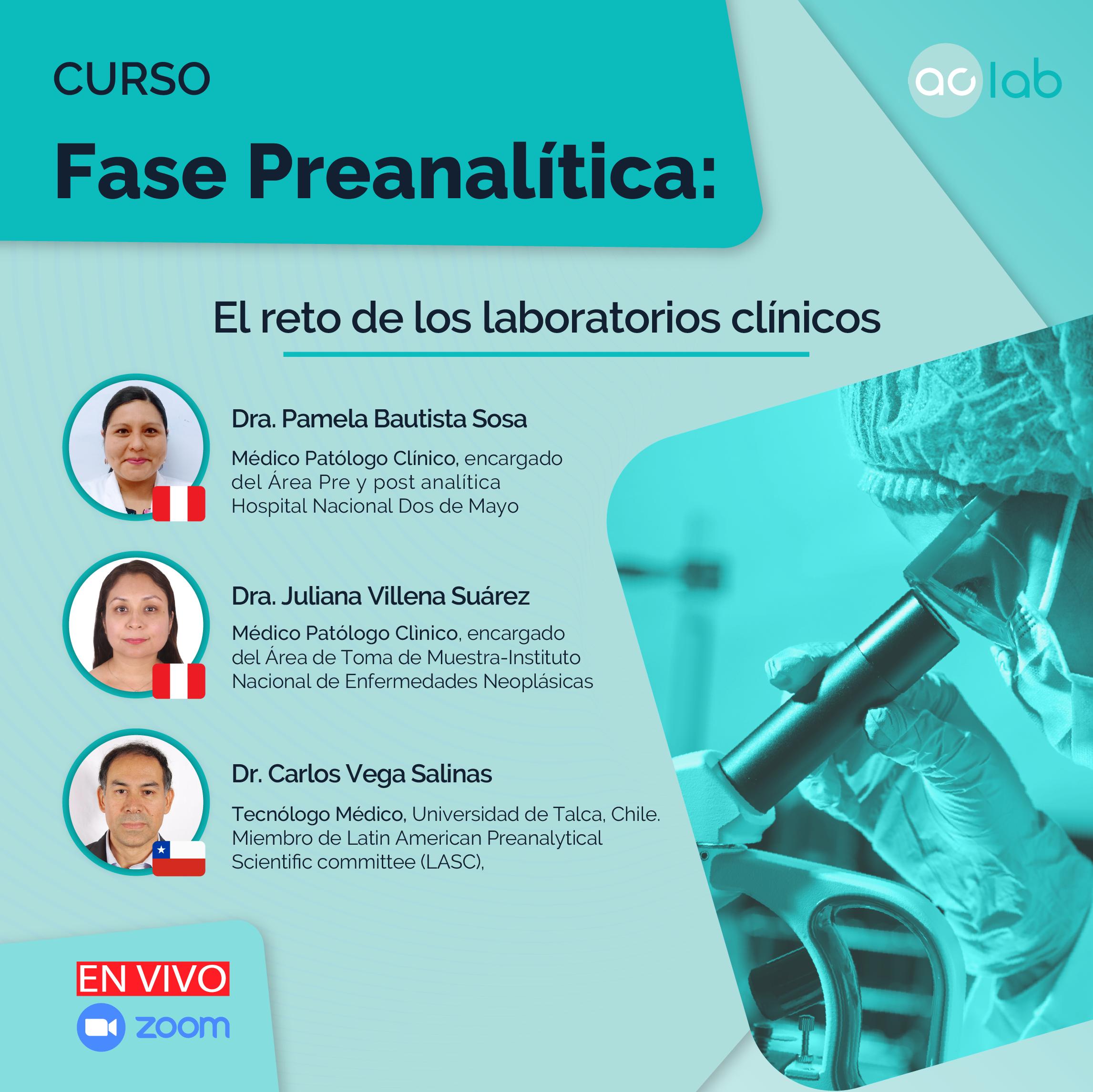 FASE PREANALITICA:  El reto continuo de los laboratorios clinicos